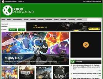 Thumbshot of Xboxachievements.com