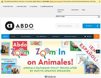 abdopublishing.com screenshot