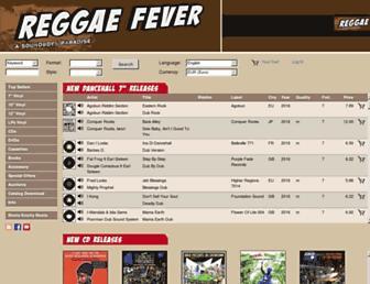 reggaefever.ch screenshot