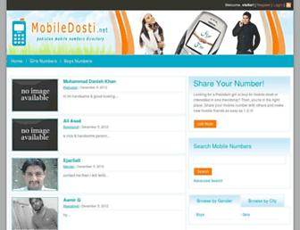 mobiledosti.net screenshot