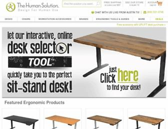 thehumansolution.com screenshot