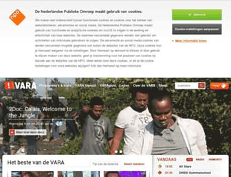 Thumbshot of Vara.nl
