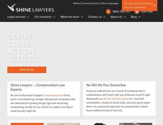 shine.com.au screenshot