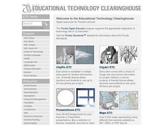 etc.usf.edu screenshot