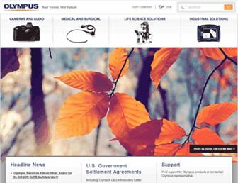 olympusamerica.com screenshot