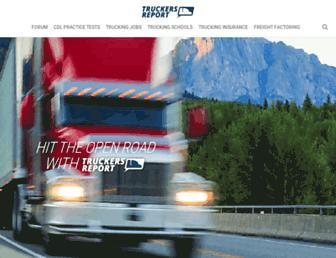 thetruckersreport.com screenshot