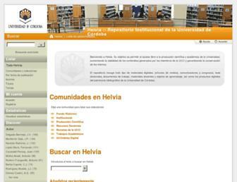 helvia.uco.es screenshot