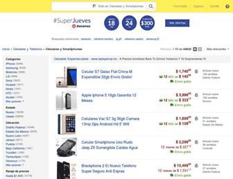 celulares.mercadolibre.com.mx screenshot
