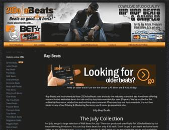 20dollarbeats.com screenshot