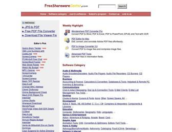 freesharewarecenter.com screenshot