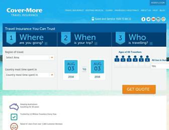 covermore.com.au screenshot