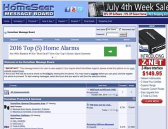 forums.homeseer.com screenshot