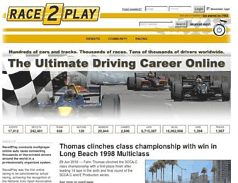 Thumbshot of Race2play.com