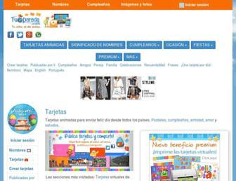 tuparada.com screenshot