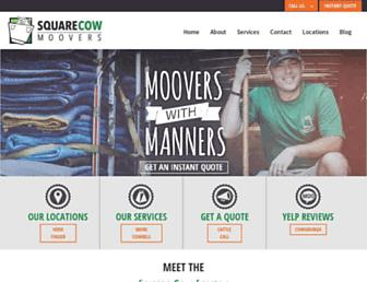 squarecowmovers.com screenshot