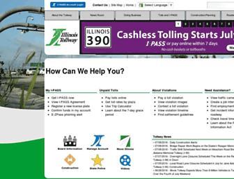 Thumbshot of Illinoistollway.com