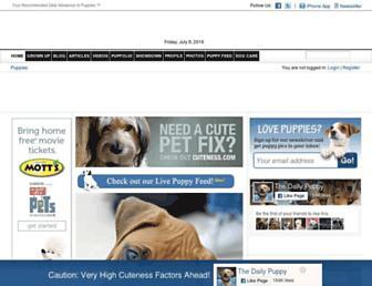 Thumbshot of Dailypuppy.com