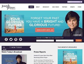 Thumbshot of Josephprince.org