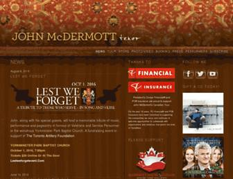 johnmcdermott.com screenshot