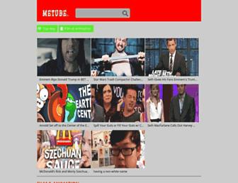 metube.org screenshot