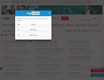 mywork.com.vn screenshot