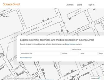 Thumbshot of Sciencedirect.com