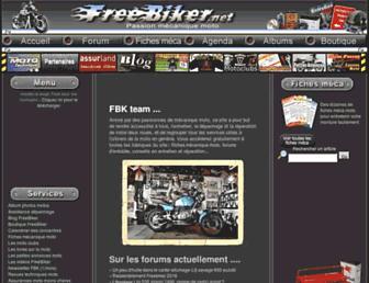 Thumbshot of Freebiker.net