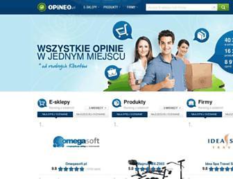 Thumbshot of Opineo.pl