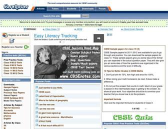 Thumbshot of Cbsenotes.com