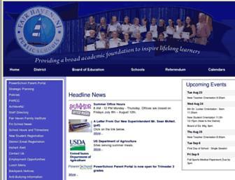 fairhaven.edu screenshot