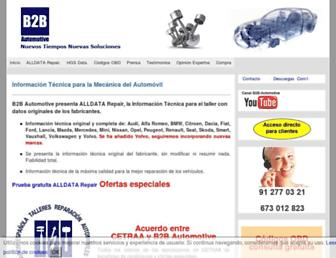 mecanicadelautomovil.net screenshot