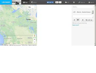 lsdfinder.com screenshot