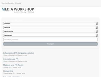 media-workshop.de screenshot