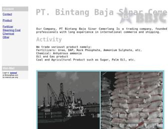 bintangbaja.com screenshot