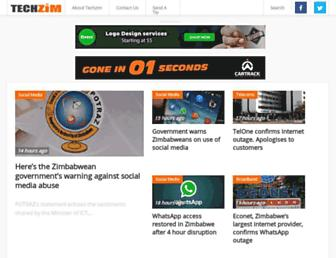 techzim.co.zw screenshot
