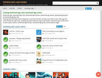 downloadlagubaru.biz screenshot