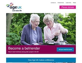 Thumbshot of Ageuk.org.uk
