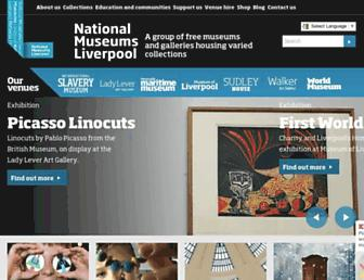 liverpoolmuseums.org.uk screenshot