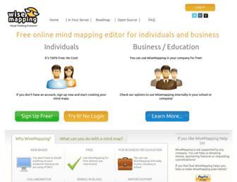 Thumbshot of Wisemapping.com