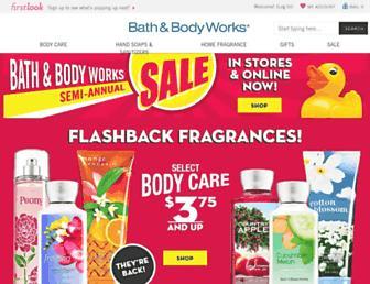 Thumbshot of Bathandbodyworks.com