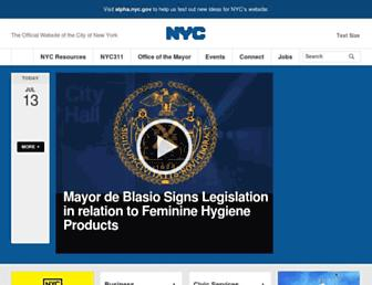 www1.nyc.gov screenshot