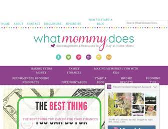 whatmommydoes.com screenshot