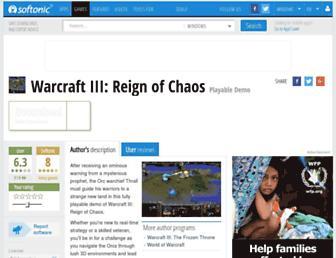 warcraft-iii-reign-of-chaos.en.softonic.com screenshot
