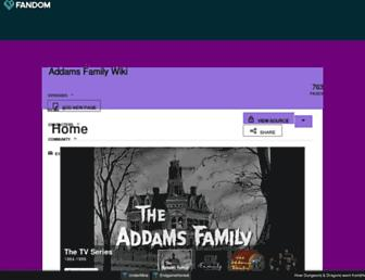 addamsfamily.fandom.com screenshot