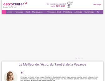 Main page screenshot of horoscope.famili.fr