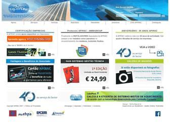 apirac.pt screenshot