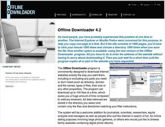 offlinedownloader.com screenshot