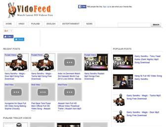 vidofeed.blogspot.com screenshot