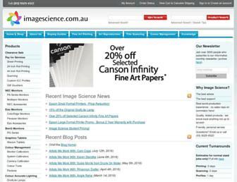 imagescience.com.au screenshot