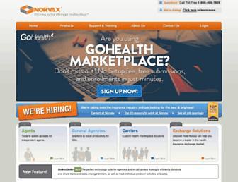 Thumbshot of Norvax.com